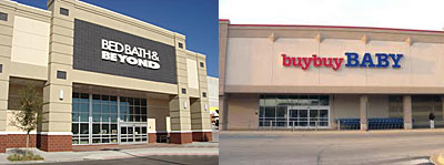 Bed Bath & Beyond and Buy Buy Baby Stores