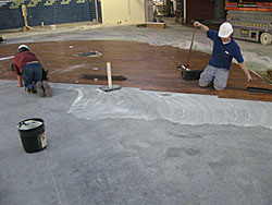 Commercial Floor Installation
